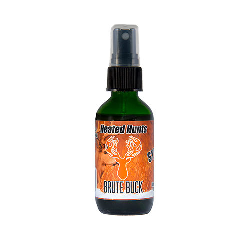 Brute BuckSynthetic is a Synthetic Buck Urine Blend that is so close to Heated Hunt's Natural Brute Buck Urine Blend the hunter nor can the buck tell the difference.