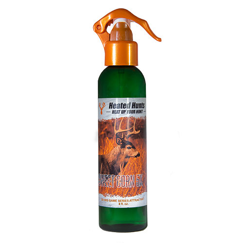 Sweet Corn Attractant & Sweet Corn Scent are used to attract deer and bears,