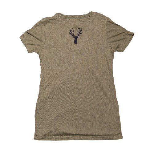 OD Green Women T Shirt Back